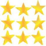 Комплект звезды Стоковые Фото