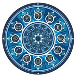 Комплект знака зодиака символа Стоковые Фотографии RF