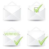 Комплект значка письма Стоковые Фотографии RF