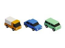 Комплект значков автомобиля Стоковое Изображение RF