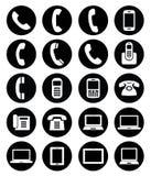 Комплект значков устройства Стоковые Фотографии RF