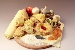 Комплект здоровой еды стоковая фотография