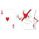 Комплект играя карточки 12 Стоковое Изображение RF