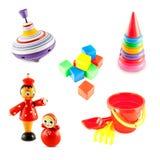 Комплект игрушек младенца Стоковое фото RF