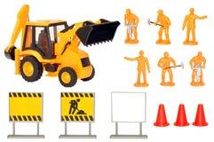 Комплект игры конструкции игрушки Стоковые Изображения RF