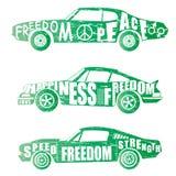 Комплект дизайна автомобиля бесплатная иллюстрация