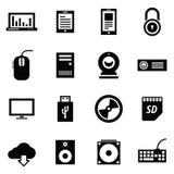 Комплект иконы серии Simplus Стоковые Изображения