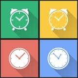 Комплект иконы часов Стоковые Изображения RF