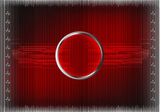 Комплект линий на красной предпосылке Стоковые Фото
