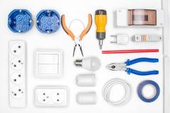 Комплект инструмента для электрика Стоковое Изображение