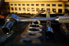 Комплект инструмента Стоковая Фотография