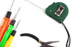 комплект инструментов ремонта, отвертки, Стоковые Изображения