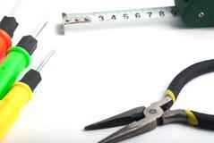 комплект инструментов ремонта, отвертки, Стоковые Фото