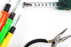 комплект инструментов ремонта, отвертки, Стоковое Фото