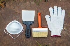 Комплект инструментов для красить Стоковая Фотография