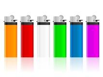 Комплект лихтера цвета Стоковые Изображения RF