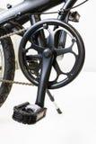Комплект и педаль цепи горного велосипеда Стоковые Изображения RF