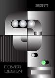 Комплект иллюстрации вектора для дизайна крышки Стоковые Фотографии RF