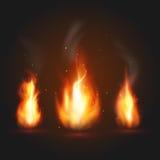 Комплект иллюстрации 3 огней Стоковое Фото