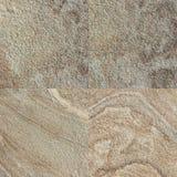 Комплект 4 каменных текстур Стоковые Изображения