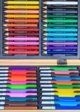 Комплект карандаша расцветки Стоковые Фото
