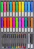 Комплект карандаша расцветки Стоковое Фото