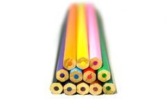 Комплект карандаша цвета Стоковые Фото