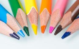 Комплект карандаша 8 Стоковые Изображения