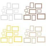 Комплект картинных рамок бесплатная иллюстрация