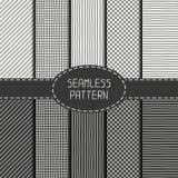 Комплект картины конспекта вектора безшовной руки Стоковое Изображение RF