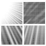 Комплект картин полутонового изображения Стоковые Фотографии RF