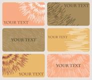 Комплект 6 карточек с картиной изменять выравнивается бесплатная иллюстрация