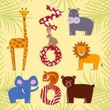 Комплект квартиры животных бесплатная иллюстрация