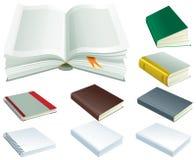 Комплект книги Стоковые Изображения RF