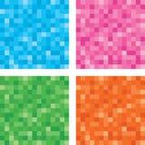 Комплект кнопки пиксела Стоковая Фотография