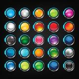 Комплект кнопки Стоковое фото RF