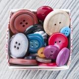 Комплект кнопок год сбора винограда Стоковые Изображения