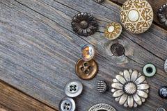 Комплект кнопок год сбора винограда Стоковые Фотографии RF