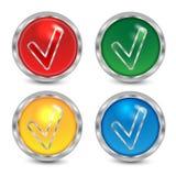Комплект кнопок Стоковые Фото