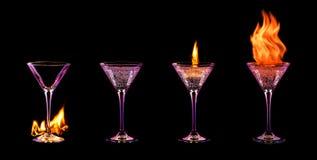Комплект коктеиля Стоковое Фото