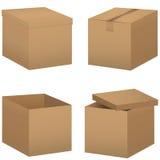 Комплект коробки Стоковые Изображения RF