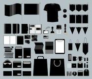 Комплект корпоративного дизайна иллюстрация вектора