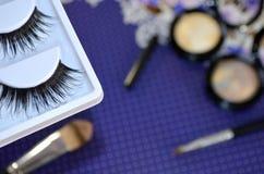 комплект косметик декоративный Стоковое Изображение