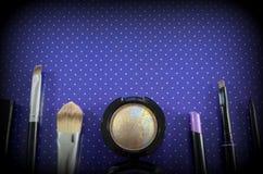 комплект косметик декоративный Стоковое фото RF