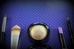 комплект косметик декоративный Стоковые Фотографии RF