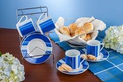 Комплект кофейной чашки Стоковые Изображения