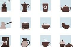 Комплект кофейной чашки Стоковые Фотографии RF