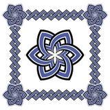 Комплект красивых кельтских картин Стоковые Фотографии RF