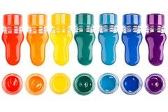 Комплект краски Стоковое Изображение