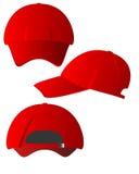 Комплект красных крышек Стоковая Фотография RF